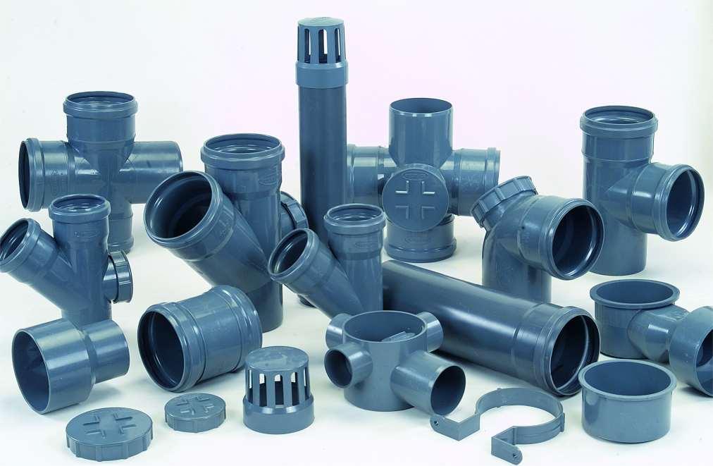 Какие бывают ПВХ фитинги для напорного водопровода?